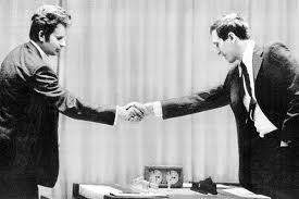 """BOBBY FISCHER AGAINST THE WORLD"" - Handshake Leaders"