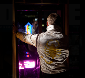 Nicholas Winding Refn - DRIVE BACK - RYAN GOSLING - CANNES - NIGHT