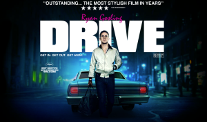 DRIVE...Nicolas Winding Refn - POSTER / Ryan Gosling - POSER ... IN CANNES AT