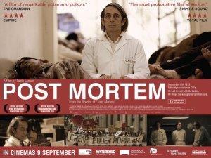 Pablo Larraín / Alfredo Castro / Marcelo Alonso / Amparo Noguera / 'POSTER' MORTEM / ICA