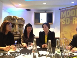MOON SORI Interview at BAFTA