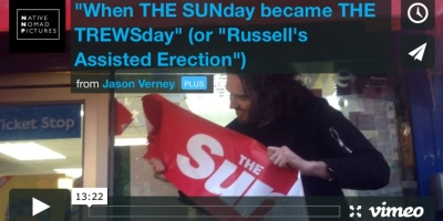 Russell Brand Documentary